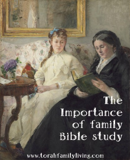 The Importance of Family Bible Study