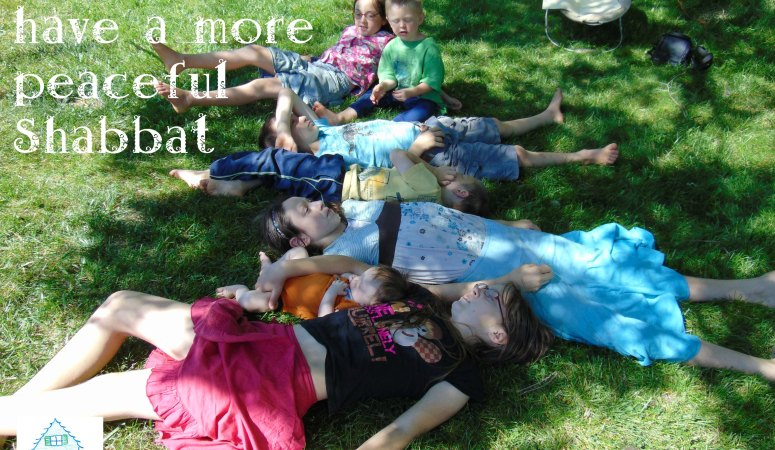 5 ways to have a peaceful Shabbat