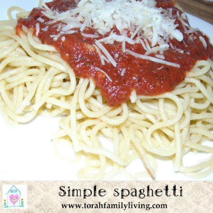 Simple spaghetti