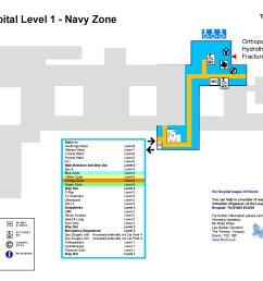 torbay hospital level 1 map [ 2339 x 1653 Pixel ]