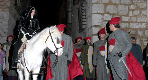 La reina Juana I y su cortejo llegan este fin de semana a Tordesillas