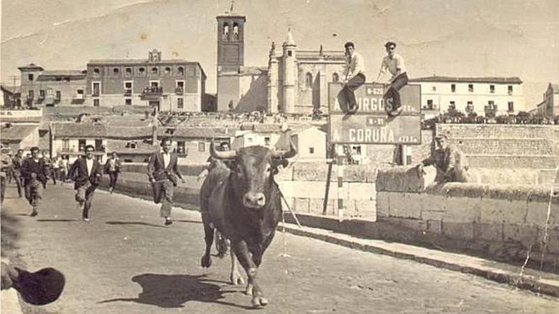 Antonio Benito presenta una película fotográfica sobre el Toro de la Vega