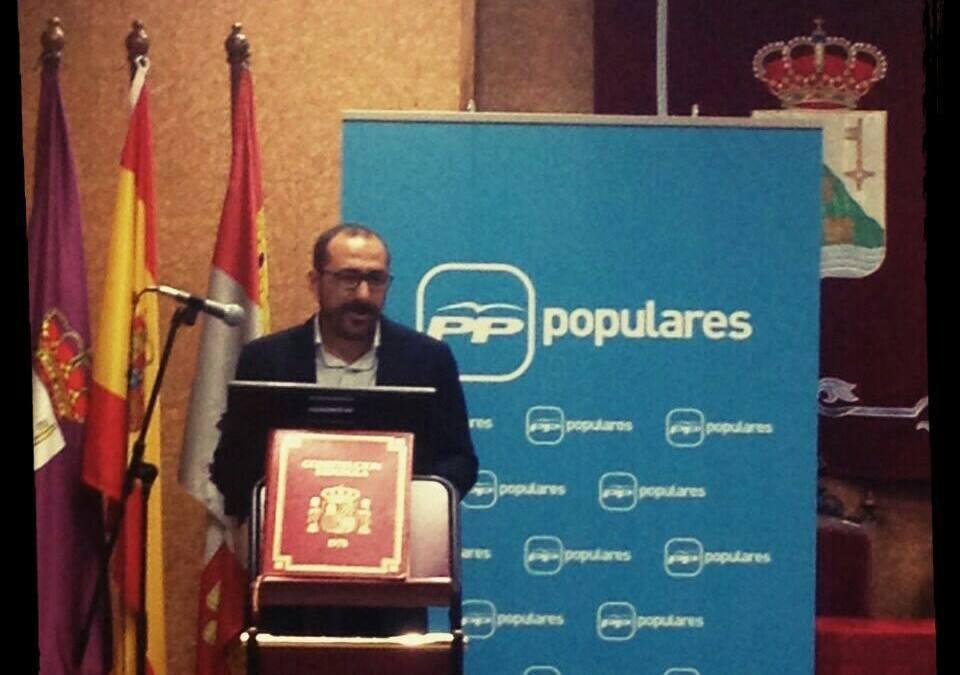 Miguel Ángel Oliveira (PP) se presentará a presidente de la Junta local de su partido
