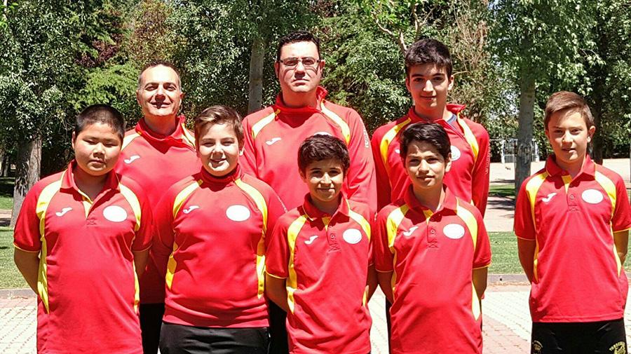 Alejandro Calvo y Jaime González, bronce en el Campeonato individual de Castilla y León Sub15 y Sub13