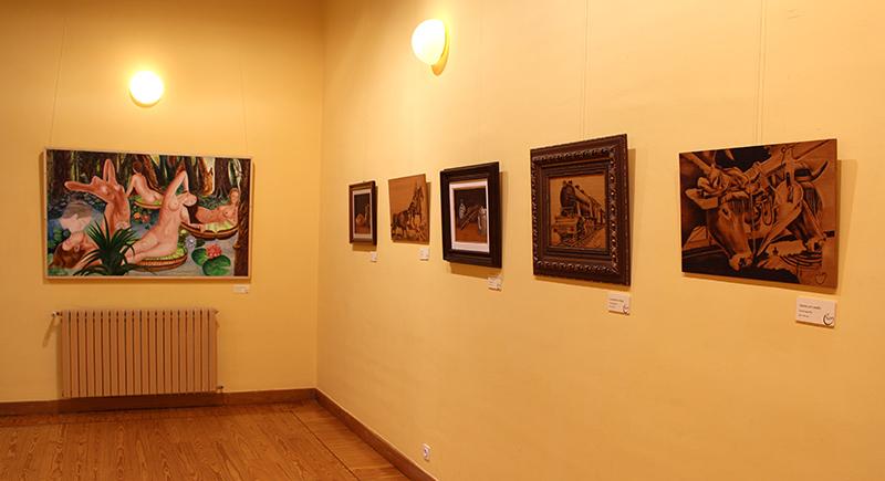 Vicen Fernández presenta su exposición 'Ayeres de Fuego'