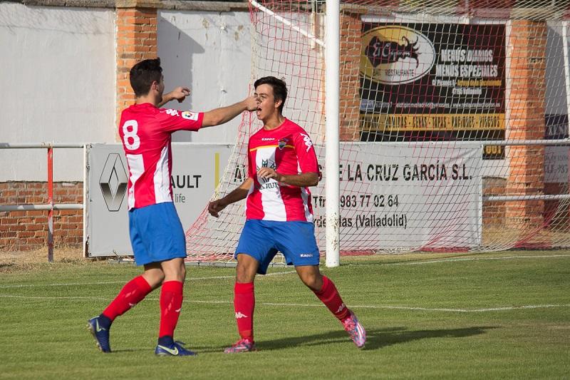 El Atlético Tordesillas cumple y vence al Real Burgos
