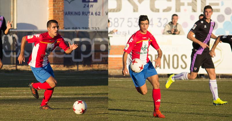 Abel Conejo y Javi Borrego, en la lista definitiva de la Selección de Castilla y León UEFA