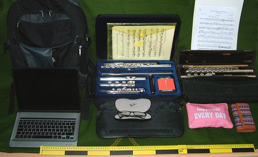Detenido por el robo de dos mochilas con objetos valorados en 25.000 euros