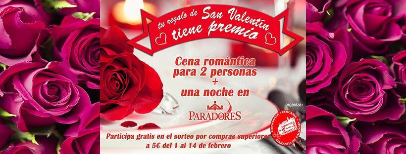 El Comercio de Tordesillas fideliza a su clientela por San Valentín