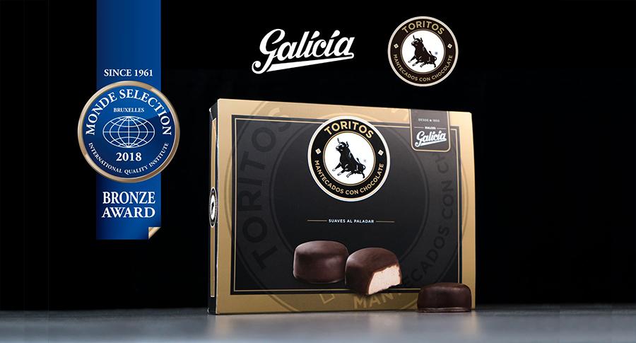 Dulces Galicia obtiene el sello de calidad internacional 'Monde Selection' gracias a sus 'Toritos Chocolate'