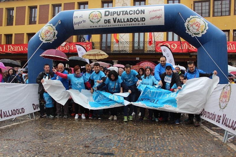 """Tordesillas saca su lado más solidario y rompe """"barreras por el autismo"""""""