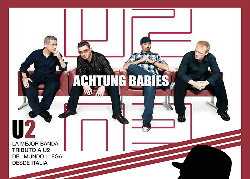 La mejor banda tributo a U2 llega a Tordesillas el 28 de Julio