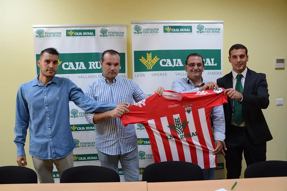 El Atlético Tordesillas renueva su patrocinio con Caja Rural de Zamora
