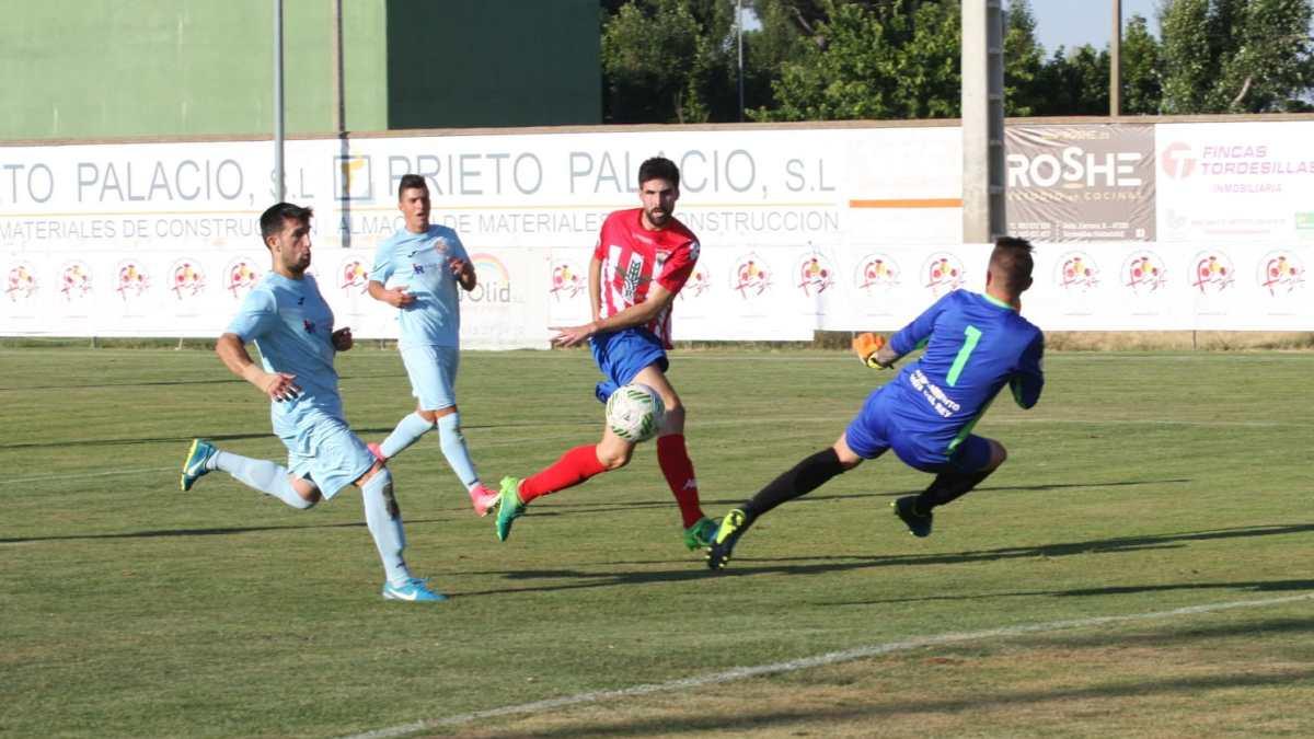 El Atlético Tordesillas se estrena en el Diputación con una goleada