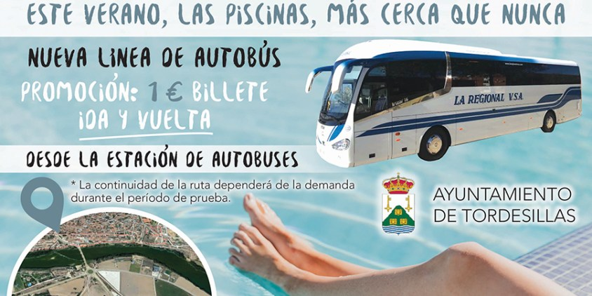 La falta de uso del bus hacía las Piscinas Municipales hace cesar el servicio