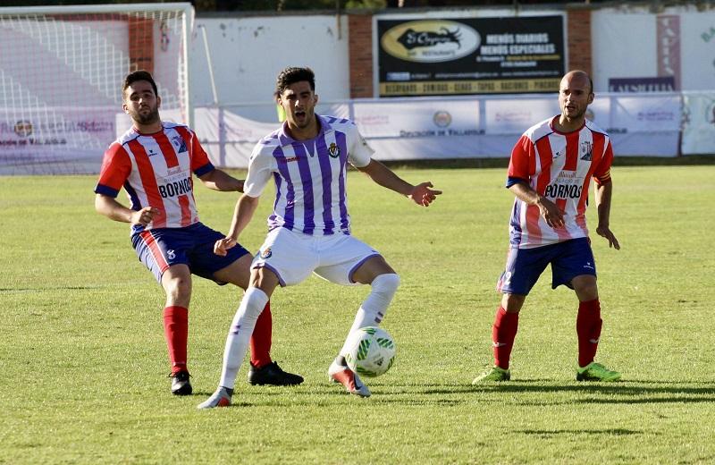El Valladolid B impone su juego ante la Medinense