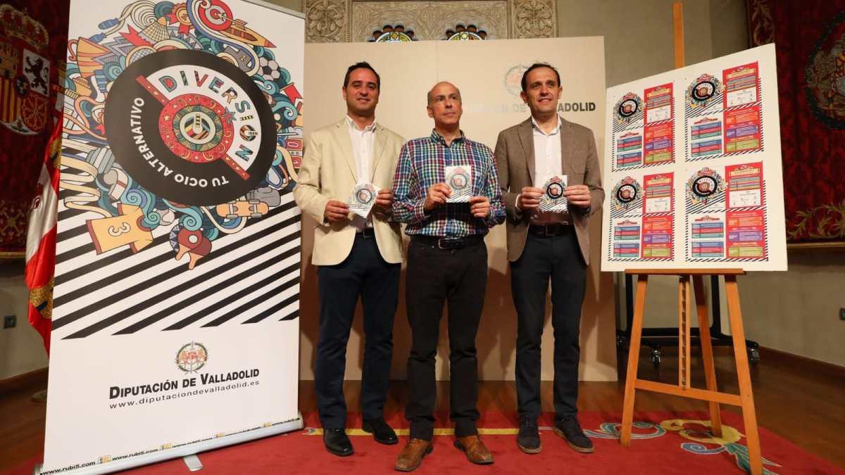 """La Diputación de Valladolid presenta para Tordesillas el programa """"DiversiON"""""""