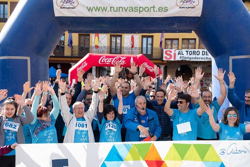 La Marcha por el Día Mundial del Autismo supera su récord de inscritos