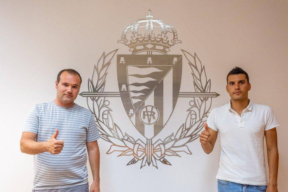 El Atlético Tordesillas refuerza su relación con el Real Valladolid