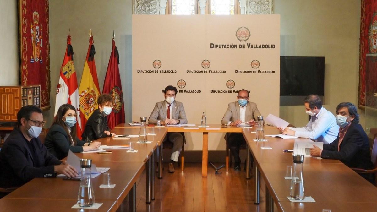 Los Grupos Políticos acuerdan las medidas de reforzamiento de las políticas sociales dentro del Plan de Choque de la Diputación