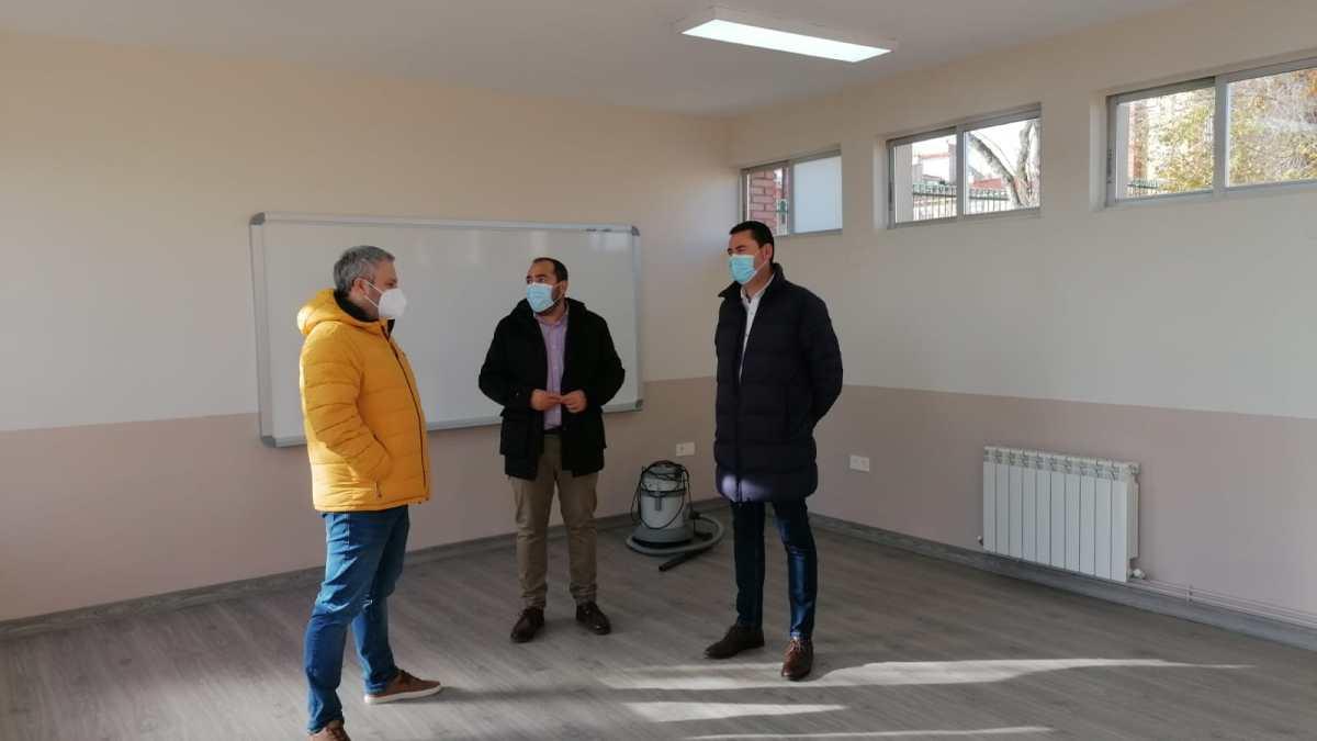 El Ayuntamiento Tordesillas habilita dos nuevas aulas en el CEIP Pedro I