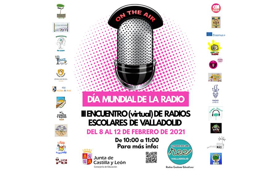 Alumnos del IES Juana I de Castilla participan en el III Encuentro Virtual de Radios Escolares de Valladolid