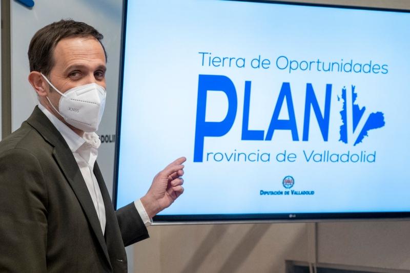 La Diputación presenta el nuevo Plan V que destina 6 millones de euros a nuevas inversiones y creación de empleo