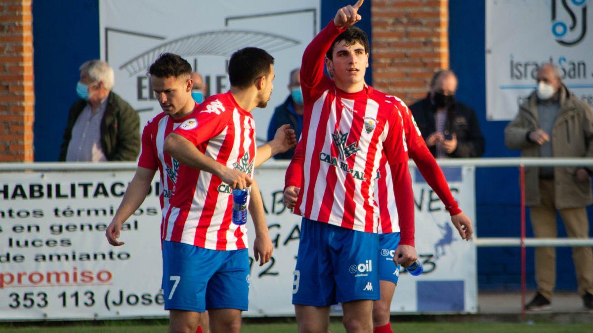 Doblete de Torres y primera victoria del Atlético Tordesillas en la segunda fase