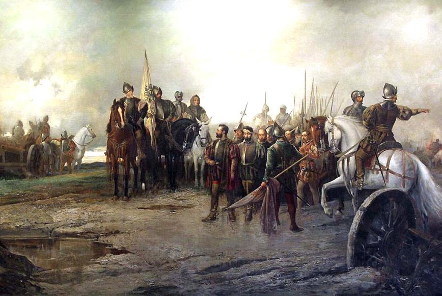1521: El Hospital Mater Dei recibe a los heridos en la batalla de Villalar