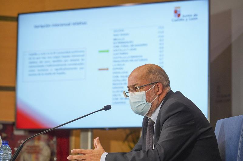 La Junta de Castilla y León baja a Nivel de alerta 2 todas las provincias de la región