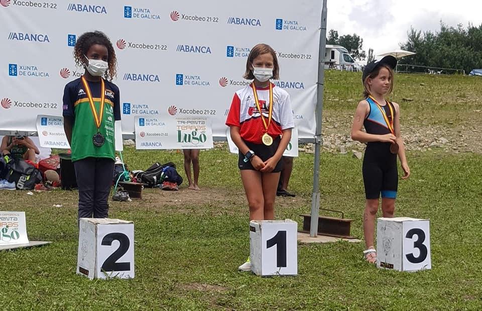 María Vinagrero consigue el oro en el Campeonato de España de biatlé