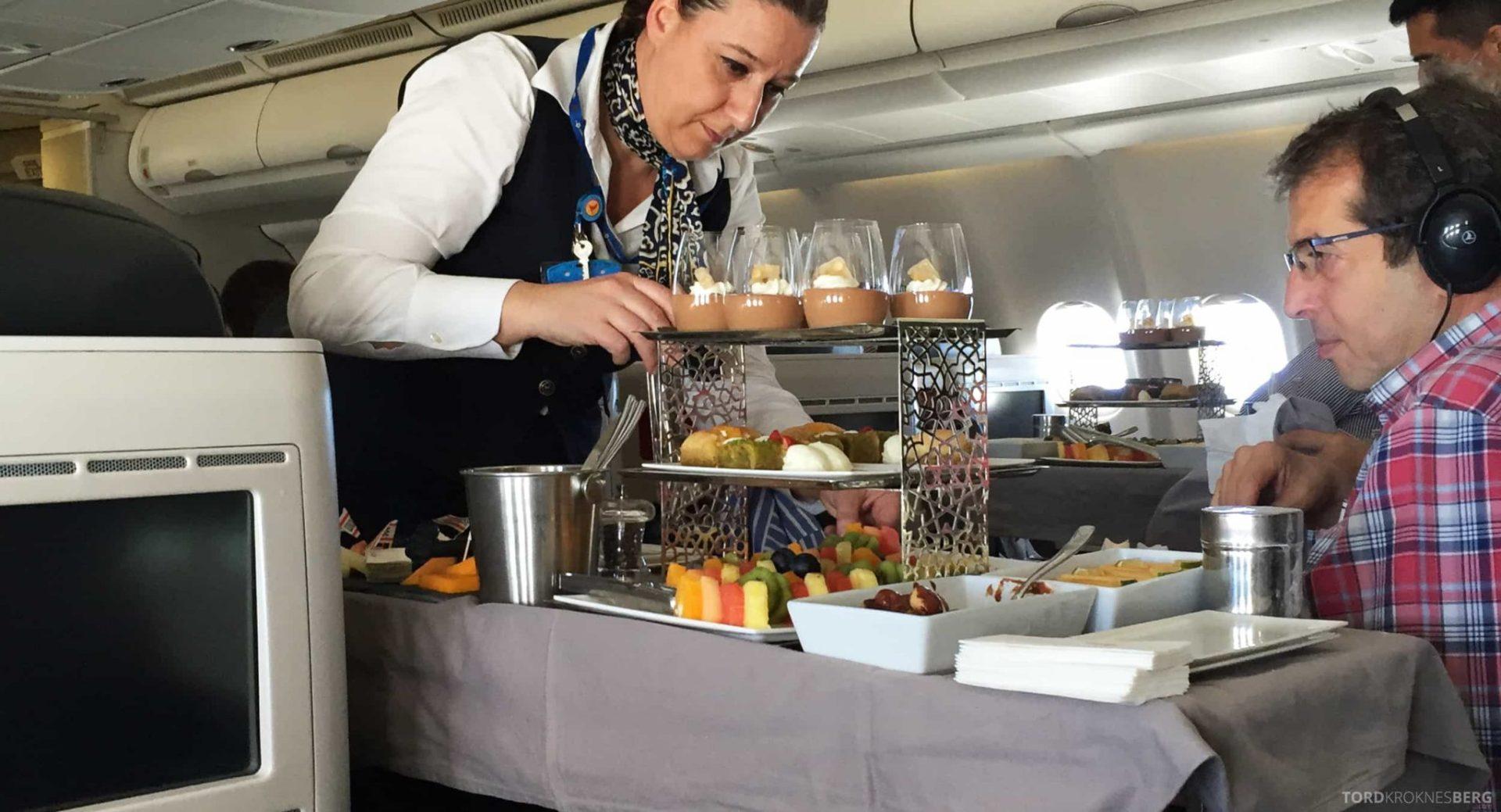 Turkish Airlines Business Class interkontinentalt