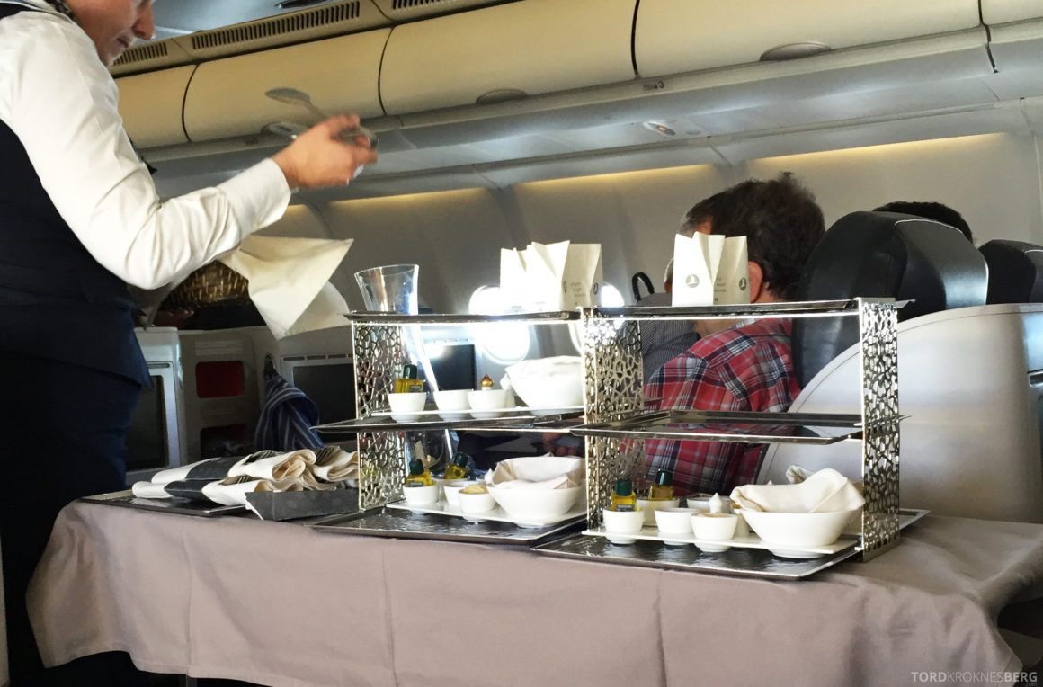 Turkish Airlines Business Class Boston tralle