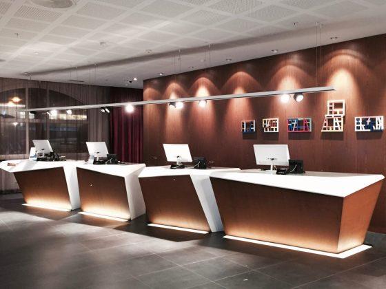 Radisson Blu Royal Hotel Bergen resepsjon
