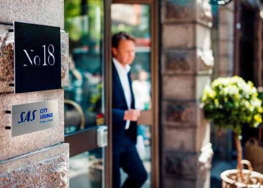SAS City Lounge i Stockholm