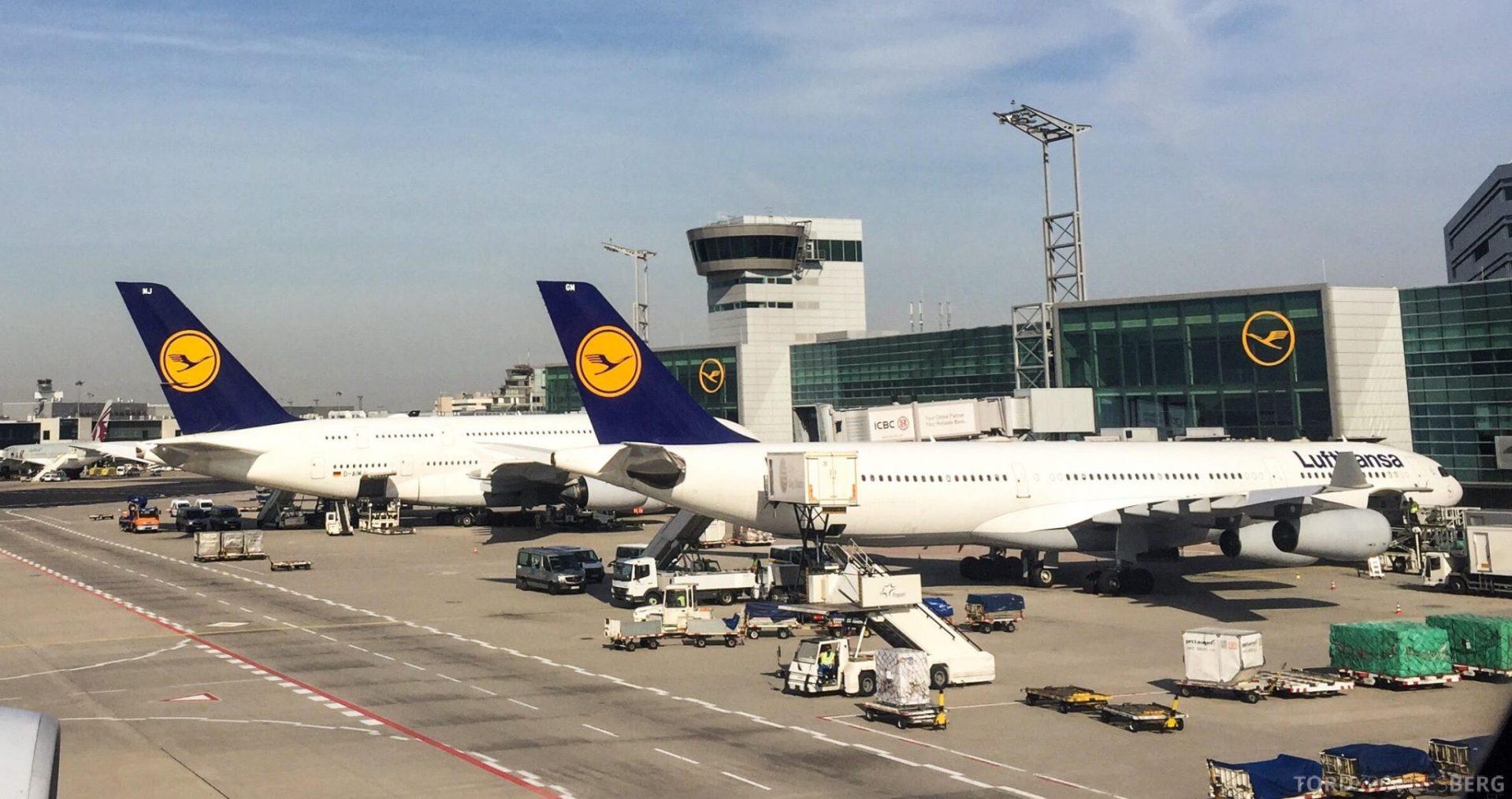Lufthansa mat ombord