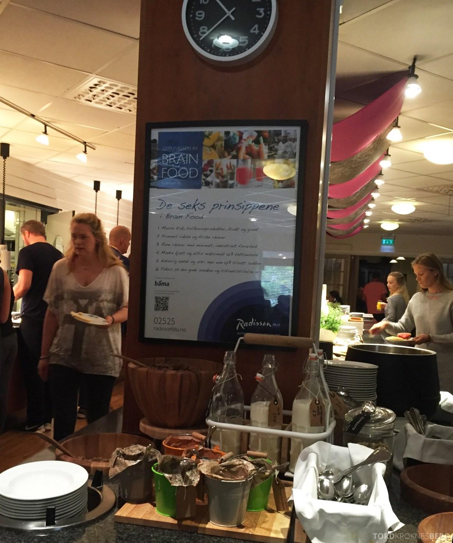 Radisson Blu Atlantic Stavanger frokostbuffet