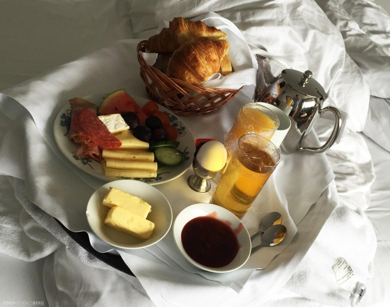 Radisson Blu Atlantic Stavanger frokost på sengen