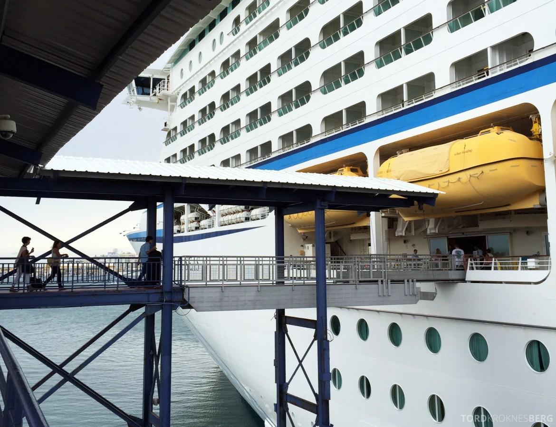 Royal Caribbean Adventure of the Seas boarding