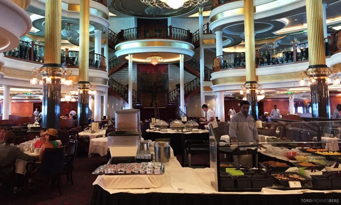 Royal Caribbean Adventure of the Seas frokostsal