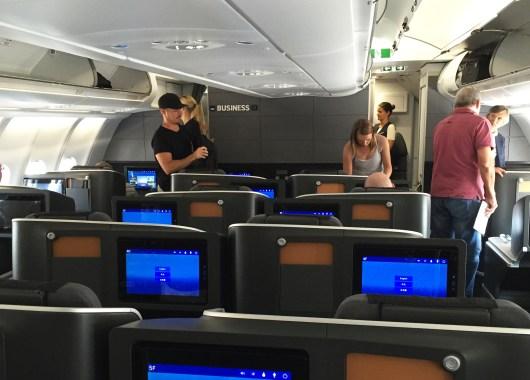 SAS Business Los Angeles kabin