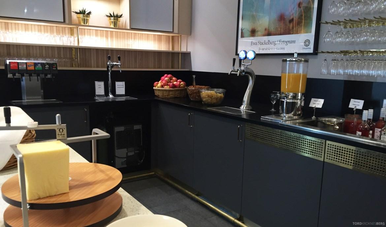 SAS Gold Lounge Stockholm drikke