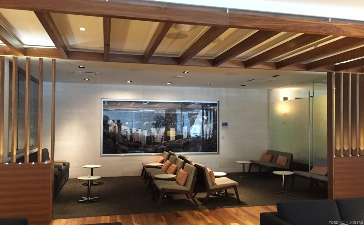 Star Alliance Gold Lounge LAX interiør