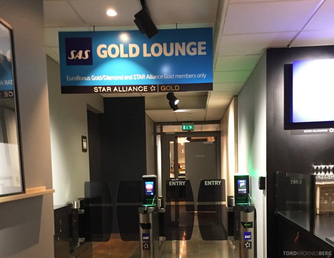 SAS Gold Lounge inngang