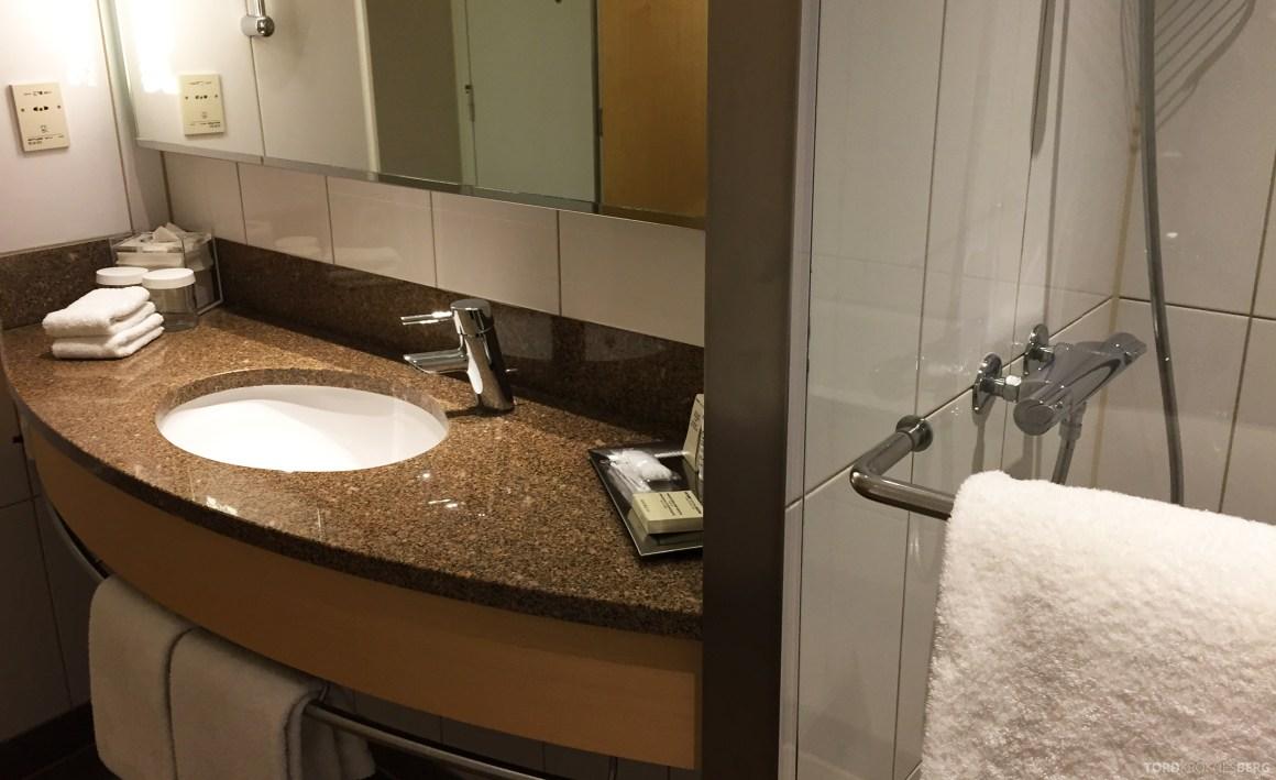 Hilton Copenhagen Executive Room bad