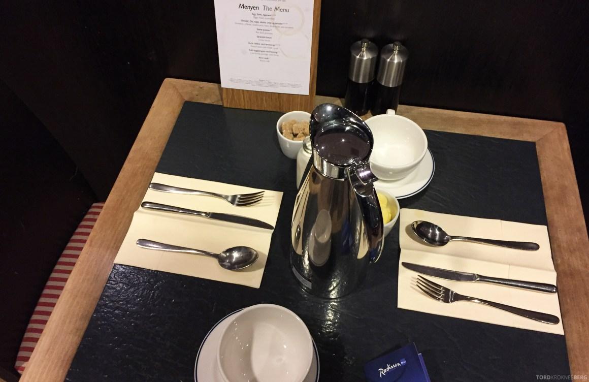 Radisson Blu Airport Hotel Gardermoen frokost