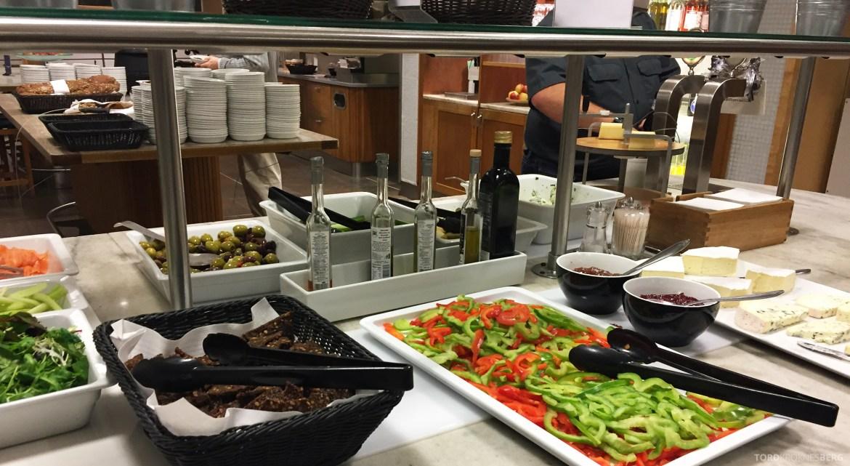 SAS Gold Lounge København buffet