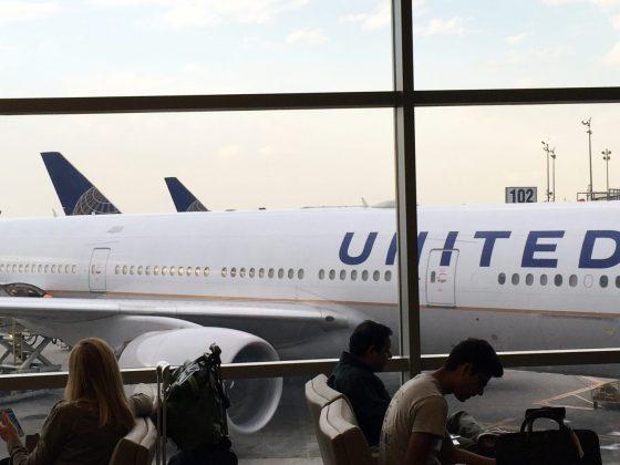 United Airlines illustrasjon