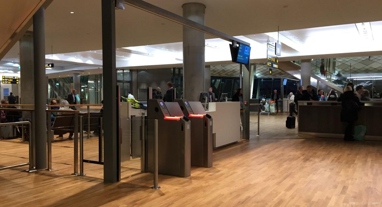 Nye Oslo Lufthavn gate