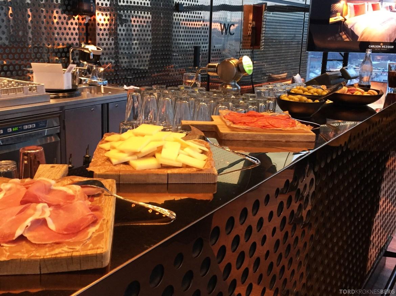 Summit Bar Oslo snack